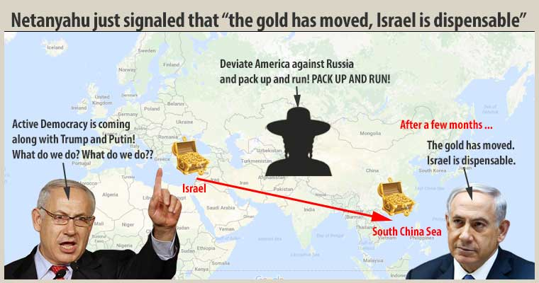 """Netanyahu just signaled that """"the gold has moved, Israel is dispensable"""""""